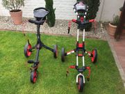2 neuwertige Golf-Trolleys