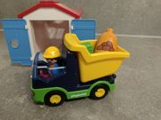 Playmobil 123 LKW mit Sortiergarage