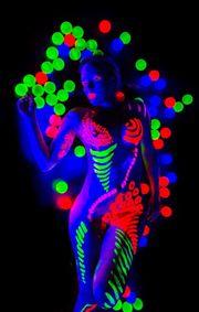 Erotisches UV-Farben-Foto-Shooting für Sie