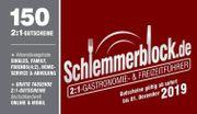 Schlemmerblock 2019 für Rastatt und