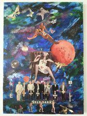 Acryl Collage HÜLSENBECK - ansehen 50cmX70c