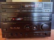 pioneer Stereoanlage mit 2 großen