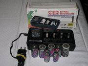 Universal-Schnell-Ladegerät mit Entlader Modell V-1299