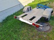 Anhänger Plattform Tieflader Motorrad Roller