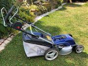 Elektrischer Rasenmäher mit Eigenantrieb