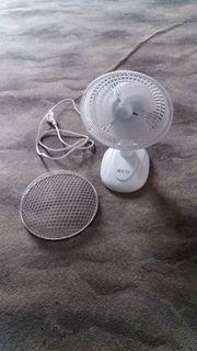 ECG Tischventilator Farbe Weiß mehrere