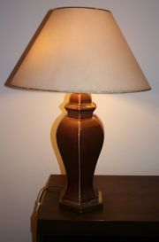 Designer Stehlampe vintage Lampenschirm Tischlampe