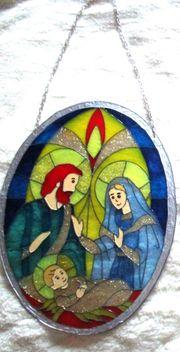 Maria Josef und das Jesuskind