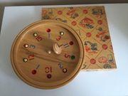 Altes Vintage Holzspiel - Tiroler Roulette