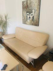 Couch 3-Sitzer Creme