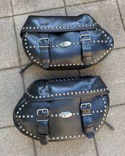 Harley Davidson Satteltaschen waren auf