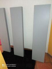 3 schwebende Regale in grau