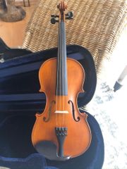 3 4 Geige mit Koffer