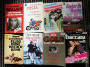 8 Taschenbücher Romane und Krimis