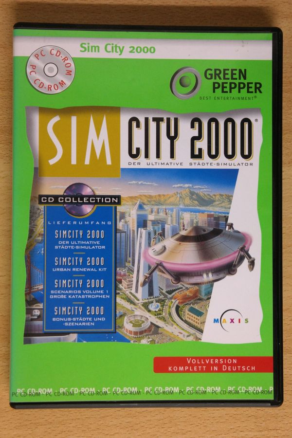 Sim City 2000 - Vollversion komplett