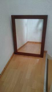 Massiver Holzspiegel