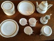 Kaffee- Tee-Service Porzellan 12 Pers