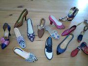 Dekoration Schuhe Flohmarkt