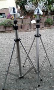ALU-Leicht-Metall-Ständer für PA-Boxen - Absolut-Preis