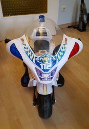 Neuwertiges Kinder Elektro Polizeimotorrad