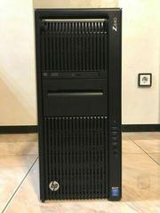 HP Z840 Workstation mit 2x
