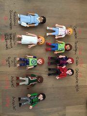 Verschiedene Playmobilfiguren