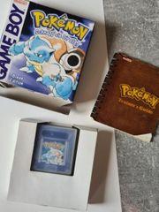 Pokemon Blaue Edition OVP GameBoy