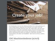 CNC-Maschinenbediener m w d