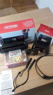 Nintendo Switch mit 11 Spielen