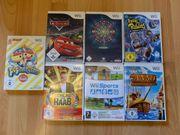 Wii Spiele - 7 Stück