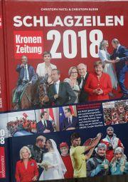 Schlagzeilen 2018 - Kronenzeitung Buch
