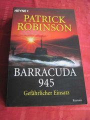 Thriller von Patrick Robinson Barracuda