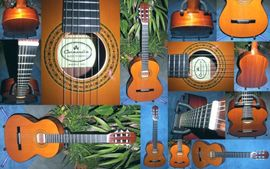 Bild 4 - Schöne Konzertgitarre Nylonsaiten spanische Gitarre - Schotten