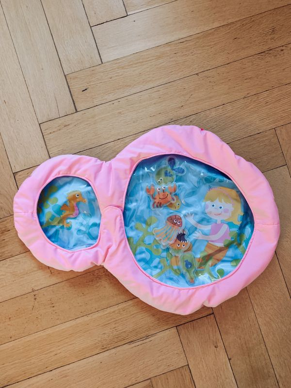 HABA Wasser-Spielmatte Bauchlage-Matte kleine Nixe