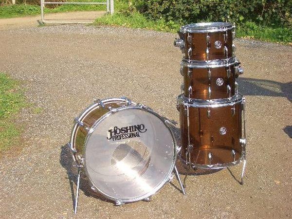 70 Hoshino Acryl Schlagzeug vglb