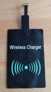 Drahtloser QI Ladeadapter für Smartphones
