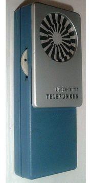Telefunken Olympia-Partner Transistorradio Taschenradio no