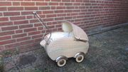 Puppenwagen 50er Jahre Dachbodenfund unrestauriert