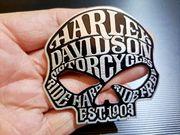 Aufkleber Aluminium 3D Harley Davidson