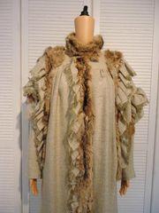 Damen Mantel Extravagantes Design aus