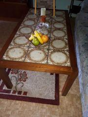 Sofa Tisch Couchtisch gekachelter Tisch