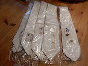 5 Krawatten für Seidenmalerei neu