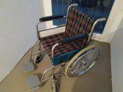 Rollstuhl Klapprollstuhl Faltrollstuhl neuwertig TOP
