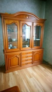 hochwertige Wohnzimmermöbel Vitrine Schrank