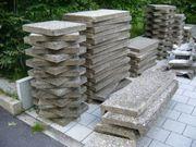 Waschbeton-Terrassenplatten gegen Abholung zu verschenken