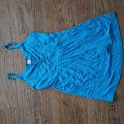 Träger-Top Shirt petrol-blau Gr 36