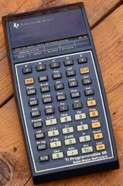 Taschenrechner TI 58