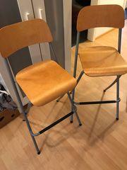 2 Ikea Barhocker FRANKLIN klappbar