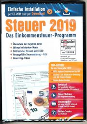 ALDI Steuer 2019 Einkommenssteuer-DVD neu
