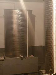 Edelstahltank 600 Liter für Wein